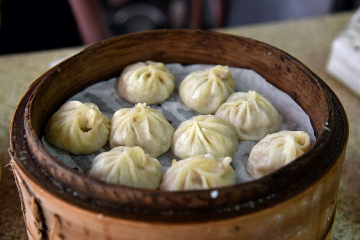 Xiaolongbao, a food starting with x